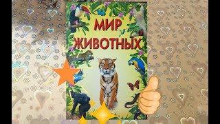 """Видео для детей: Гиганская книга """" мир животных"""""""