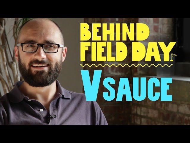 Michael Stevens of Vsauce | Behind Field Day