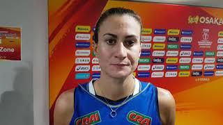 Mondiali Femminili 2018: le parole di Lucia Bosetti al termine di Italia-Thailandia