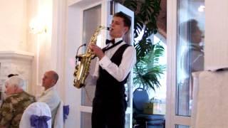 Саксофонист на свадьбе 08.06.2013