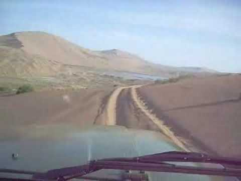 Driving Through The Badan Jilin Desert