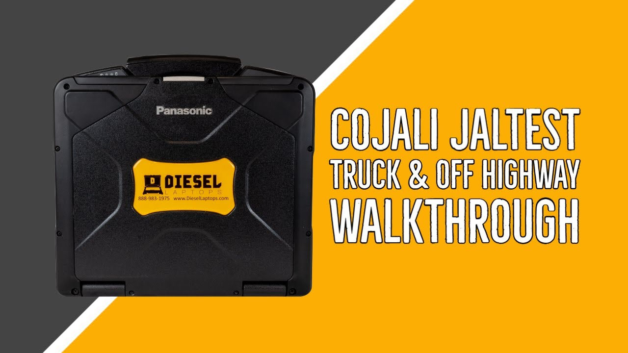 Cojali Jaltest Truck & Off-Highway Software Walkthrough
