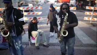 Julian Raj Ayacannoo & Marquis Jones: 6th Street Sax Players