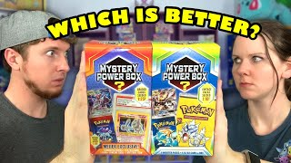 $50 POKEMON CARDS MYSTERY POWER BOX OPENING! Which Edition Is The Best To Buy?