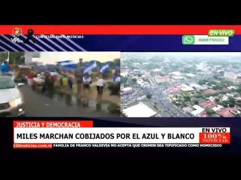 EN VIVO Desde Nicaragua - Miles De Personas Marcha En Contra Del Gobierno De Ortega