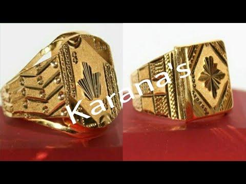 20ee96296270f Latest Gold Rings for Gents   सोने की अंगठियां