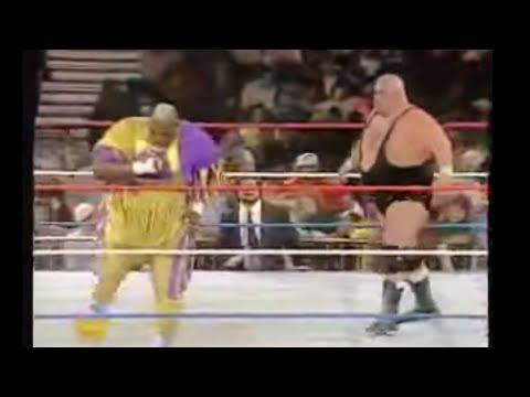 Mabel vs King Kong Bundy | Raw 01/23/95