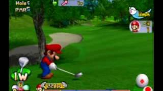 Mario Golf Toadstool Tour - Lakitu Cup as Mario Part 1