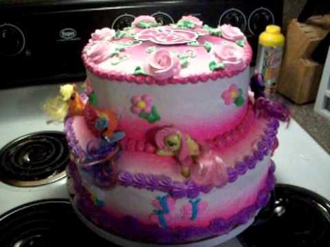 My Little Pony Ultimate Birthday Cake YouTube