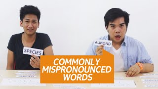 Top 10 Commonly Mispronounced Words by Pinoys