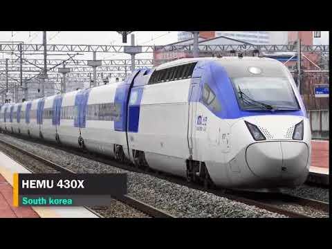 Top 10. Dünyanın 10 ən sürətli qatarı - 2018.  Top 10 Fastest Trains in The World - 2018