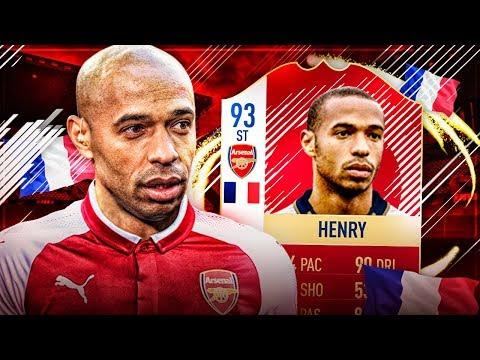 NAJLEPSZY 93 HENRY PRIME! FIFA 18 ULTIMATE TEAM