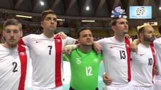 2016 Deaf Futsal 24 Nov 2015 Men Switzerland Japan Indoor Stadium Huamark part 1