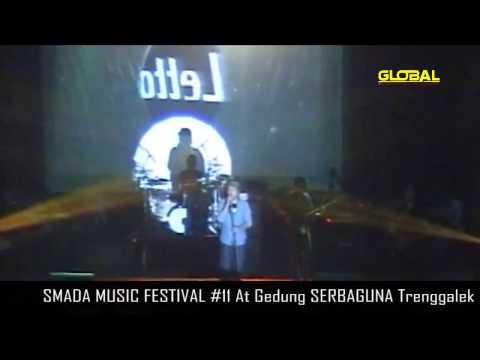 LETTO - SENYUMANMU [SMADA TRENGGALEK MUSIC FEST #11]