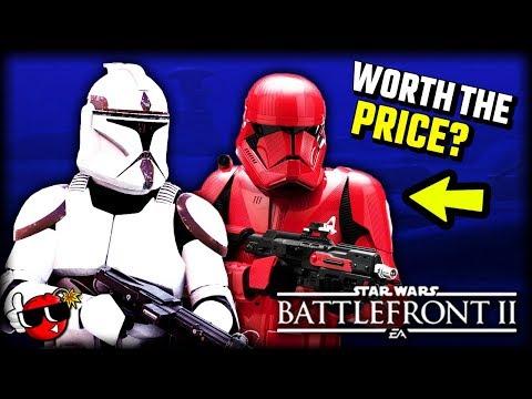 Is Battlefront 2 Celebration Edition WORTH IT? - Star Wars Battlefront 2 New Appearances, Skins