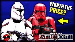 Is Battlefront 2 Celebration Edition WORTH IT? - Star Wars Battlefront 2 New Appearances, Skins