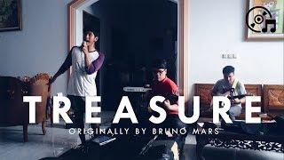 Treasure - Bruno Mars - Elvan Saragih, Jordandreas, Harley Dave, and Yehezkiel Ezra Cover