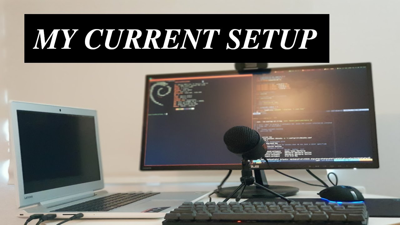 - THE MINIMALIST PROGRAMMER SETUP My Current Setup - YouTube