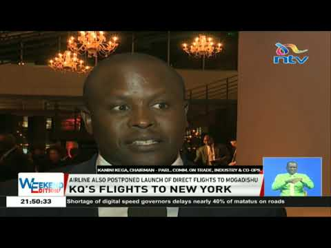 KQ reduces frequency of flights to New York due to low winter demand