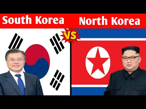 South Korea vs North Korea Comparison in bangla|north korea and south korea comparison #Shorts