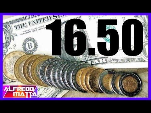 Peso Mexicano Se Devalúa Dolar En 16 50