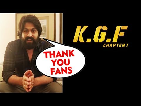 KGF Superstar Yash LIVE CHAT With Fans | Thank You Fans | Kolar Gold Fields