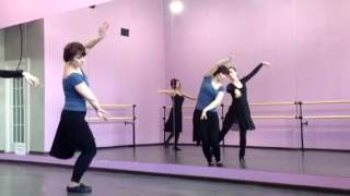 Урок азербайджанского танца . Педагог Рена Ибрагимова