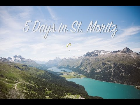 5 days in St. Moritz, Switzerland