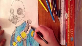 Speed-Drawing Tf2