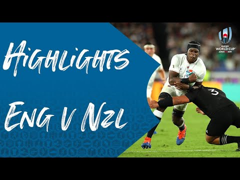 Match Highlights: England 19-7 New Zealand - Rugby World Cup 2019