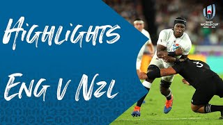 Match Highlights: England v New Zealand - Rugby World Cup 2019