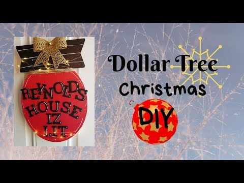 Dollar Tree Christmas Light DIY