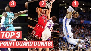 Top 3 Point Guard Dunks Every Year! (2010-2020)