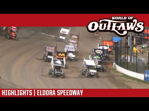 World of Outlaws Craftsman Sprint Cars Eldora Speedway May 11, 2018 | HIGHLIGHTS