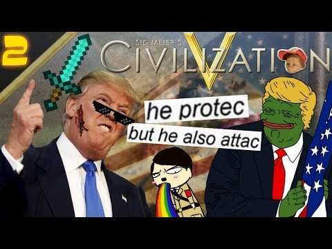 He protec, but he also attac - Sid Meier's Civilization V #2