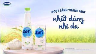 Sữa gạo rang Vinamilk Zori - Nhất Dáng Nhì Da