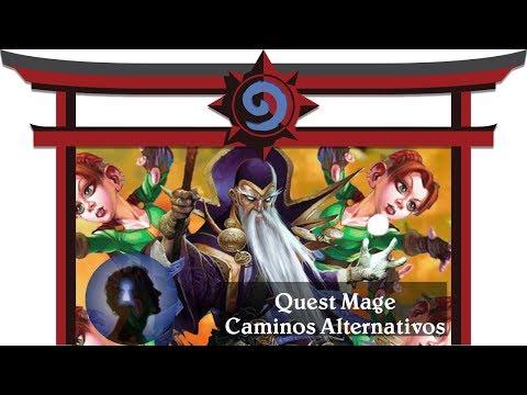 Quest Mage, caminos alternativos [HearthstoneDojo - GPC]