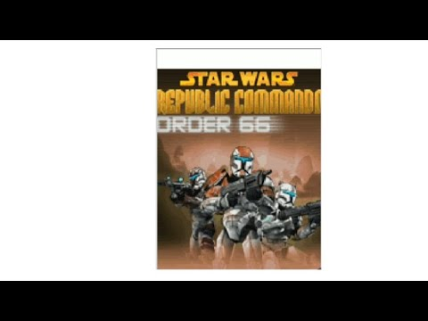 Playing this old mobile star wars game, star wars republic commando order 66 (no commentary) |