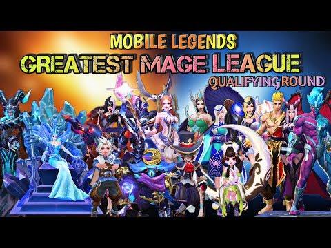 MOBILE LEGENDS GREATEST MAGE LEAGUE   MAGE VS MAGE   MOBILE LEGENDS