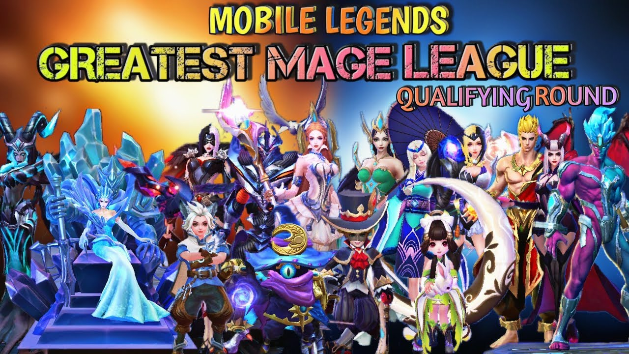 MOBILE LEGENDS GREATEST MAGE LEAGUE | MAGE VS MAGE ...