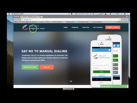 Video 1 - Load Numbers to Calley Automatic Dialer