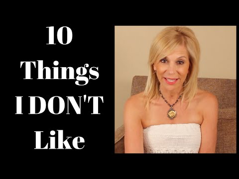 10 Things I Really DON'T Like From Bill Cosby to Shoes