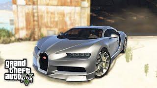 DAS NEUE BESTE AUTO in GTA 5 - Bugatti Chiron Mod   iCrimax