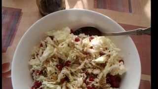 Как приготовить салат для похудения из ПЕКИНСКОЙ КАПУСТЫ. Быстро.Вкусно.