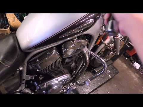 Suzuki VS 1400 Intruder used motorcycle parts for sale test video.