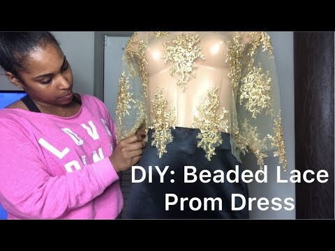 how-to-make-a-lace-mermaid-prom-dress