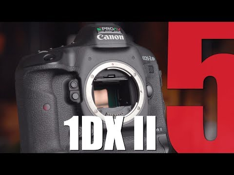 5 Reasons our customers choose the Canon 1DX II