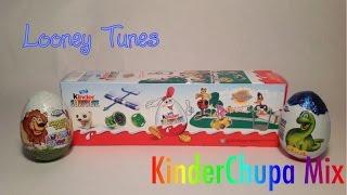 """Открываем Киндер Сюрприз из Египта, """"Луни Тюнз Шоу"""" (Kinder Surprise """"Looney Tunes Show"""")"""