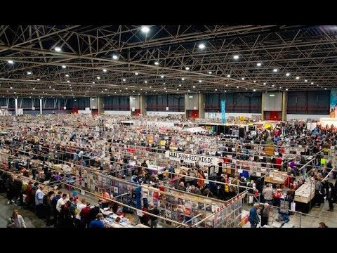 Biggest Record Fair In The World (Beatles & more) - Utrecht April 8th (Part 1)