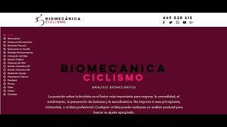 Biomecánica Ciclismo